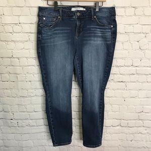 Torrid Ankle Skinny Jeans Size 14R